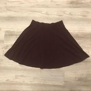 VS PINK Maroon Mini Skirt XS